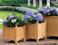 Gardening Planter Boxes.