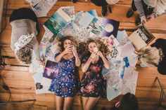 Kristina and TashaPhotoshoot for the UNO New Zealand magazine