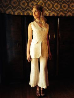 Eternal Vintage Wedding Suit/70's Bohemian Glam by LydiaLoveVtg