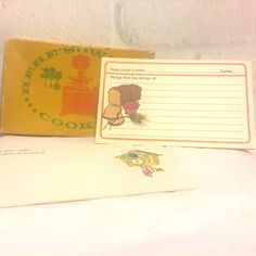 Vintage Current Here's What's Cookin' Recipe Cards Set of 38 #Current #ebayrocteam