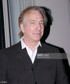 """Alan Rickman - at the October 15, 2006 New York, NY premiere of """"My Name is Rachel Corrie"""". He was the co-editor and director of of the first staging of this play. / ** """"Theatre can't change the world. But what it can do, when it's as good as this, is to send us out enriched by other people's passionate concern."""" The Guardian"""