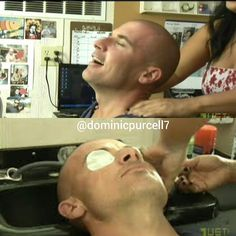 After a day of work, nothing better than relaxing ❤ #dominicpurcell#dominicpurcell7#prisonbreak#lincolnburrows#sarahwaynecallies#saratancredi#amaurynolasco#sucre#jodilynokeefe#gretchen#robertknepper#tbag#wentworthmiller#michaelscofield#brother#escape#relaxing#massage#follow#love#