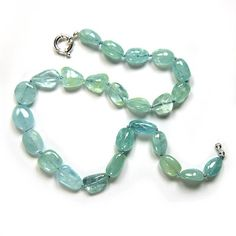 Fire agate jewelry and Digital products: Aquamarine Necklace Genuine Gemstones Fine Jewelry...