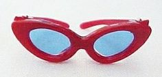 Vintage Barbie Open Road Red Sunglasses
