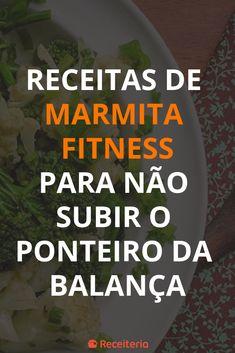 60 receitas de marmita fitness para não subir o ponteiro da balança Healthy Choices, Healthy Life, Prepped Lunches, Yummy Food, Tasty, Other Recipes, Low Carb Recipes, Meal Planning, Stress