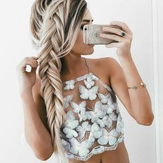 $25 Fly Away top at needmystyle.com #bikinitop #lace #croptop #needmystyle…