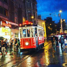 Retro tram, Istiklal, Istanbul by Natalia Lisovskaya on 500px