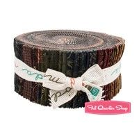Clara's Garden Jelly Roll<BR>Kansas Troubles Quilters for Moda Fabrics