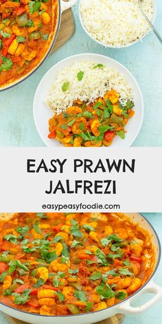 Quick, simple, packed with flavour and surprisingly low in calories – this Easy Prawn Jalfrezi is a real dinner winner! #prawns #jalfrezi #prawnjalfrezi #prawncurry #curry #curryinahurry #currynight #lowcalorie #lowcarb #makeahead #onepot #onepotdinner #glutenfree #dairyfree #easyentertaining #easymidweekmeals #easymeals #midweekmeals #easydinners #dinnertonight #dinnertonite #familydinners #familyfood #easypeasyfoodie #cookblogshare Lunch Box Recipes, Easy Dinner Recipes, One Pot Dinners, Easy Dinners, Dinners Under 500 Calories, Curry In A Hurry, Seafood Recipes, Curry Recipes
