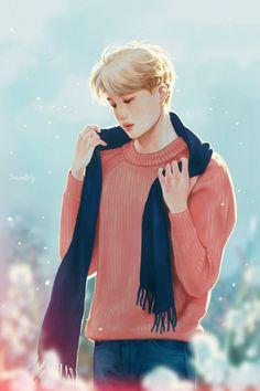Winter Rose by DancingBilly on FanBook Kai Exo, Chanyeol Baekhyun, Exo Anime, Anime Guys, Chanbaek, Chansoo, Kai Arts, Exo Fan Art, Winter Rose