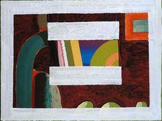 British painter and printmaker Abstract Painters, Abstract Art, Howard Hodgkin, Printmaking, British, Gardens, Geo, Frame, Interior