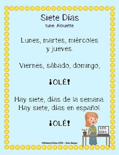 Spanish christmas songs for kids the best of youtube preschool spanish days of the week song calendar set 2 worksheets flash cards m4hsunfo
