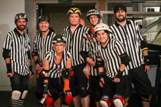 The dedicated refs at the Capital Punishment Bout!