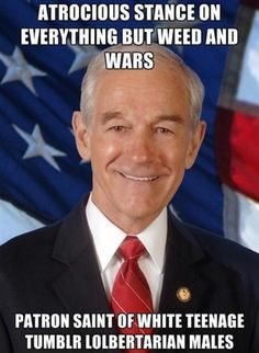 Ron Paul Super Idiot