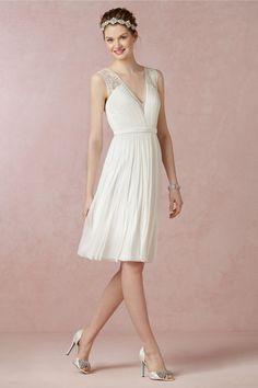 20 Gorgeous Short Wedding Dresses - Short Designer Wedding Gowns - Elle - BHLDN