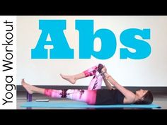 Abs - Power Yoga Workout - YouTube