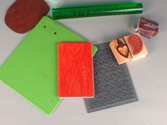 All Textured Up: Rubber Stamps & Polymer Clay