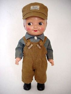 Buddy Lee (Lee Cano) was an advertising mascot for Lee Jeans. The doll was a promotional item for the company from 1920 to 1962.
