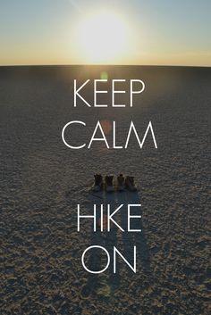 my mantra  (Makgadikgadi Salt Pans hike, Nata-Sowa,  summer 2011)