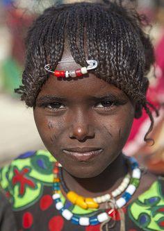 Afar Tribe Girl, Assayta, Ethiopia | Flickr - Photo Sharing! photo by Eric Lafforgue