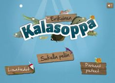 Erikoinen Kalasoppa- peli Ipadeille ja Android laitteille. Pelissä käydään läpi Itämeren kaloja hauskalla ja uudenlaisella tavalla. Kussakin pelin tasossa seikkailee aina yksi kala omassa elinympäristössään. Peliosuuden jälkeen seuraa kuhunkin kalaan liittyvä lyhyt kysymysosuus, jossa pelaaja voi syventää tietämystään Itämeren kaloista ja niiden elämästä. Peli on tarkoitettu pääasiassa biologian opetukseen peruskoulussa, mutta sitä voivat toki pelata kaikki muutkin Itämerestä ja kaloista… Biology For Kids, Homeschool, Android, Science, Nature, Ipad, Naturaleza, Homeschooling, Nature Illustration