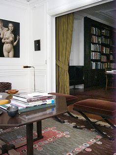 Marc Jacob's Paris apartment designed by Paul Fortune.