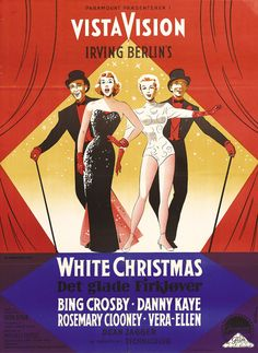 -White Christmas. One of the classics; Christmas or otherwise.