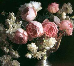 Le rose antiche profumate di David Austin
