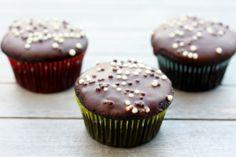 Dairy-Free Cupcakes with Chocolate Glaze 2