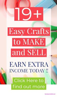 How about 19 DIY crafts to make money with today? This post list some of the most profitable crafts to make and sell. Upcycled Crafts, Easy Diy Crafts, Handmade Crafts, Money Making Crafts, Crafts To Make And Sell, Mason Jar Crafts, Mason Jar Diy, Diy Home Decor Projects, Diy Projects To Try