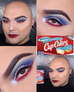 Oops forgot to post this eyes close up pic of my 4th of July Fat Bitch Friday eyes! All products are listed in previous post, but hollar are at a bitch if you have any questions! Totally random but just wanted to say I love you guys, our world is coming to shit and we have got to start spreading more love and less hate! I know same ol fuckin speech right? But at some point we gotta start listening. Anywho love you all, and I mean it. You're all my brothers and sisters