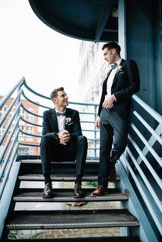 Unsere Hochzeitsfotos: Florian & Jeroen - Gay wedding