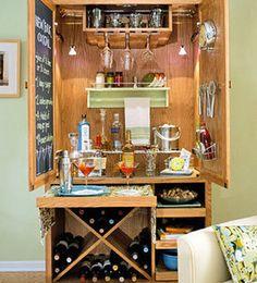 armoire -> bar!!