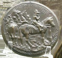 Medaglia di Giovanni VIII Paleologo, di Pisanello, verso / Medal of John VIII Paleologos by Pisanello, versus
