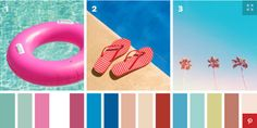Are you ready to decorate update your home for summer? Take interior inspiration from this color scheme. #BaronHomes