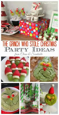 The Grinch Themed Party