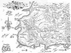 Map from Wheel of Time by Robert Jordan From: geek with curves: Fantasy Novels that Map Their Way Into My Heart (or my favorite fantasy maps)
