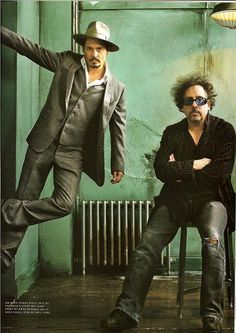 Johnny Depp and Tim Burton, one of the greatest duo/tandem of all time!