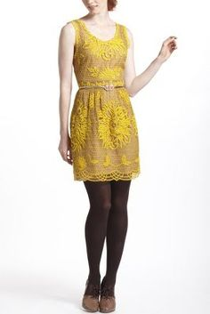 Honeycomb Lace Dress..LOVE this color.