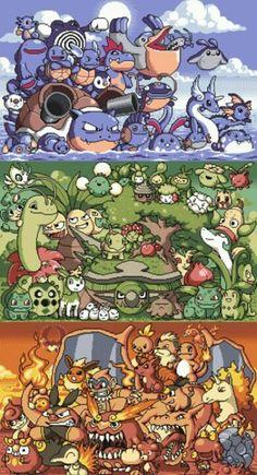 Pokemon pic looks so Digimony