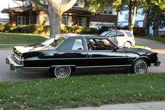 "1979 Pontiac Bonneville with the sport ""honeycomb"" wheels."