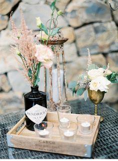Way to Use my gin bottle ...... sandra michael weingarten hochzeit 0073