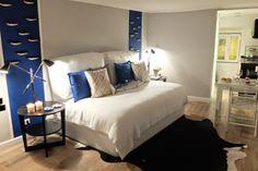 Sardine House - Alfama - Lisbon Grey, Blue, Black and White Home Bordallo Pinheiro, Ikea, Camões, Galo de Barcelos Isabel Pires de Lima - Interior Design