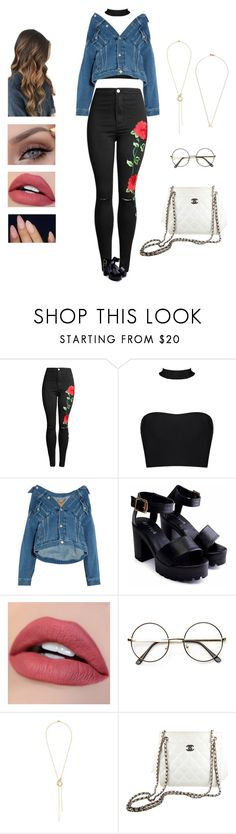 """Day6 - lean on me"" by kyndraxsvt ❤ liked on Polyvore featuring Balenciaga, Alice Cicolini, Chanel and Shaun Leane"