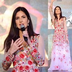 Katrina Kaif in Varun Bahl Gown Black Salwar Kameez, Black Kurti, Party Wear Dresses, Party Gowns, Western Dresses, Western Wear, Katrina Kaif, Stylish Dresses, Bollywood Fashion