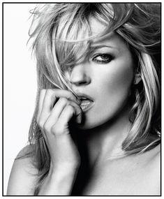 Kate Moss, por David Bailey