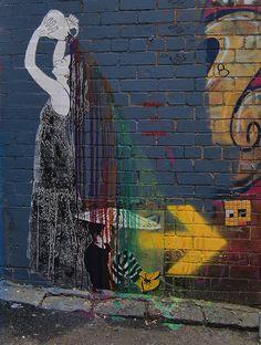 Suki Street Art - Be Free