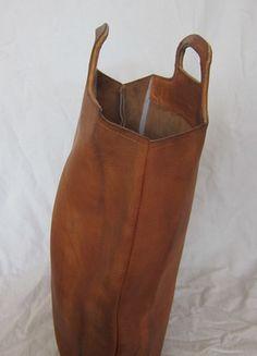 Tasche Shopper Naturleder 'Echtleder Vintage Beutel Hipster Blogger Kult 2