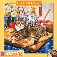 Catology - Wilberforce - 1000 Piece Jigsaw Puzzle
