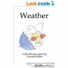 This series of books seems to be in two catagories; concept books and books about feelings. This is a good simple concept one introducing the different kinds of weather with really cute illustrations.